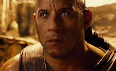 Vin Diesel is Riddick in Riddick DVD