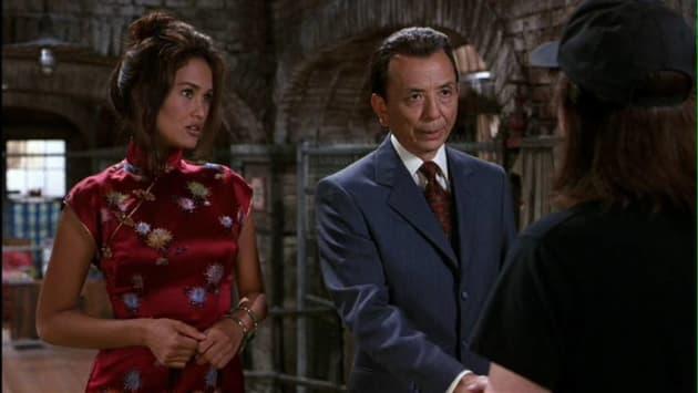 Cassandra and Mr. Wong