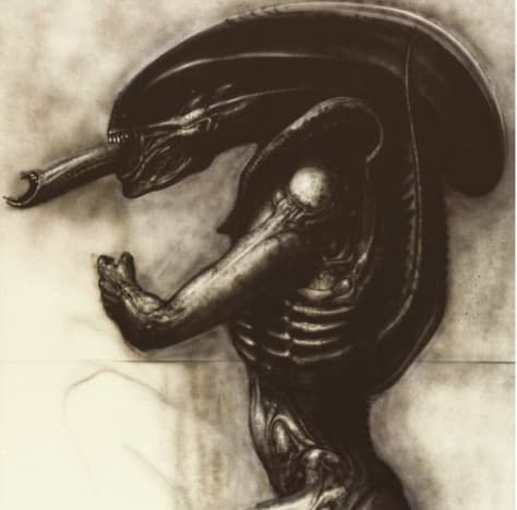 Neill Blomkamp Alien Drawning