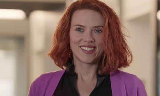 Scarlett Johansson Black Widow Parody Photo