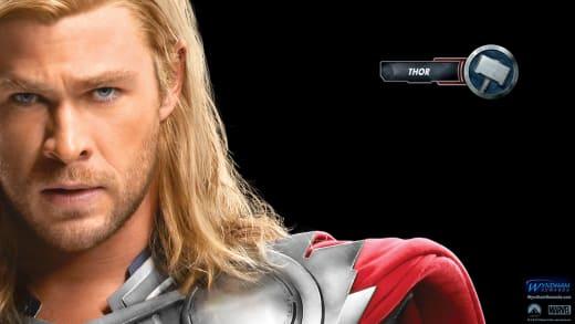 The Avengers Wallpaper: Thor