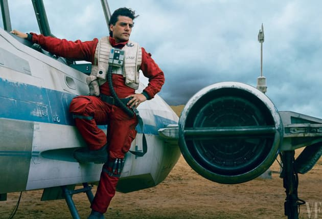 Oscar Isaac Is Ready for Flight
