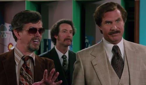 Will Ferrell is Ron Burgundy Anchorman 2