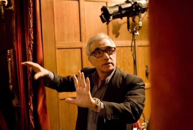 Martin Scorsese Directing Shutter Island