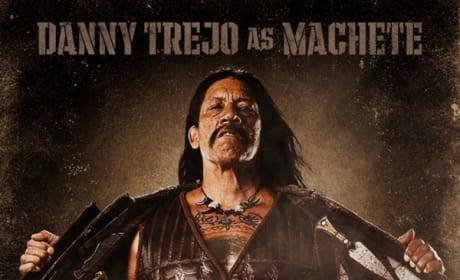 Machete Co-Stars Take a Skinny Dip