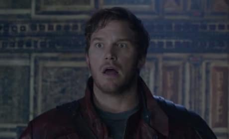 Chris Pratt Stars as Peter Quill in Guardians of the Galaxy