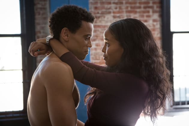 About Last Night Stars Michael Ealy Joy Bryant