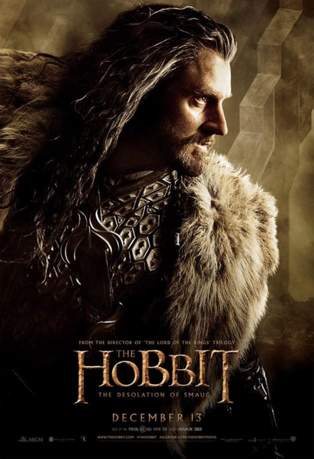 The Hobbit: The Desolation of Smaug Thorin Poster