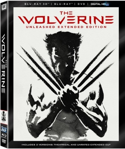 The Wolverine DVD/Blu-Ray