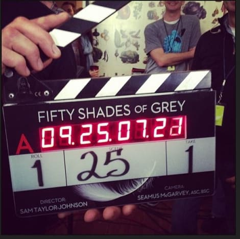 Fifty Shades of Grey Set Photo