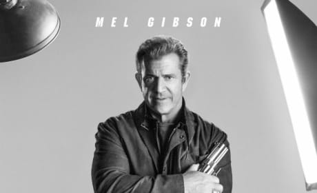 The Expendables 3 Mel Gibson Poster