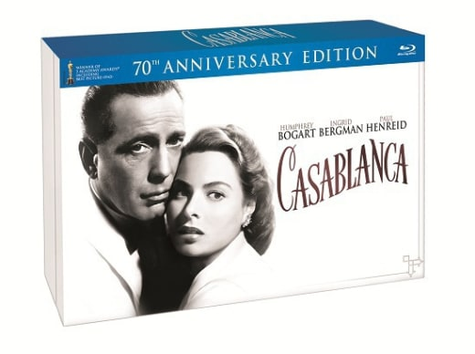 Casablanca 70th Anniversary Blu-Ray