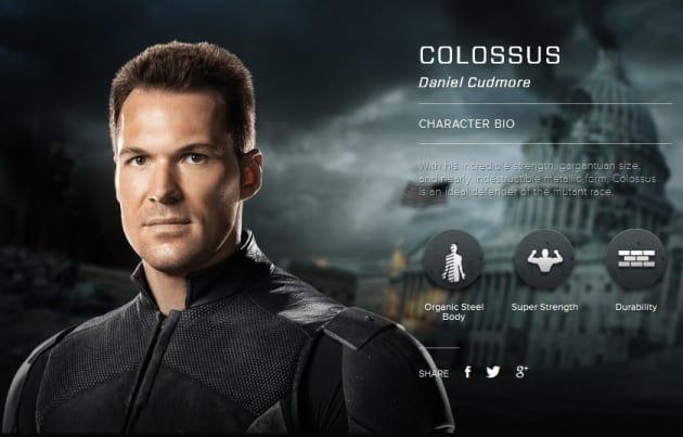 X-Men Days of Future Past Colossus Bio Banner