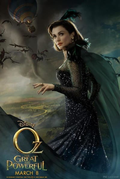 Oz The Great and Powerful Rachel Weisz Poster