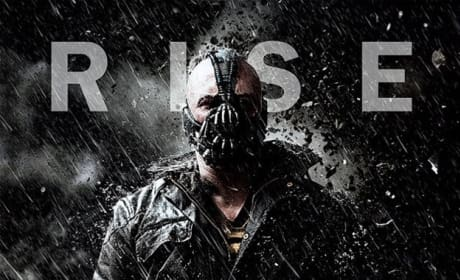 The Dark Knight Rises Rain Character Poster: Bane