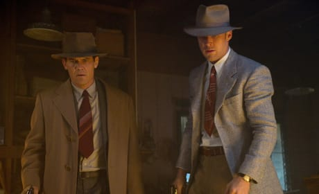Josh Brolin Ryan Gosling in Gangster Squad