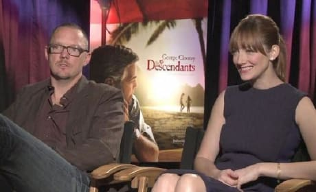 The Descendants Exclusive: Judy Greer and Matthew Lillard Live Large in Hawaii