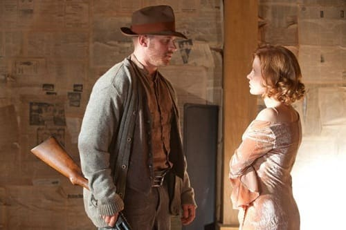 Tom Hardy Jessica Chastain Lawless