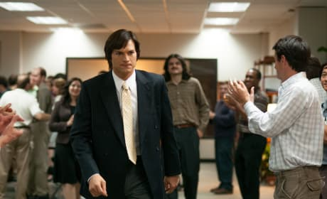 Ashton Kutcher is Steve Jobs