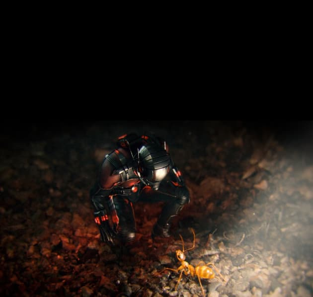 Ant-Man and His Little Friend
