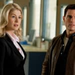 Rosamund Pike and Tom Cruise Jack Reacher