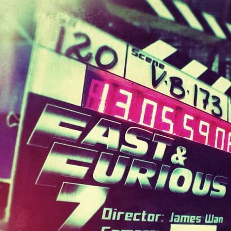 Fast and Furious 7 Calls Action