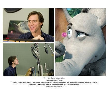 Jim Carrey voices Horton