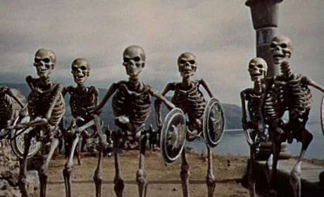 Jason and the Argonauts Skeleton Scene