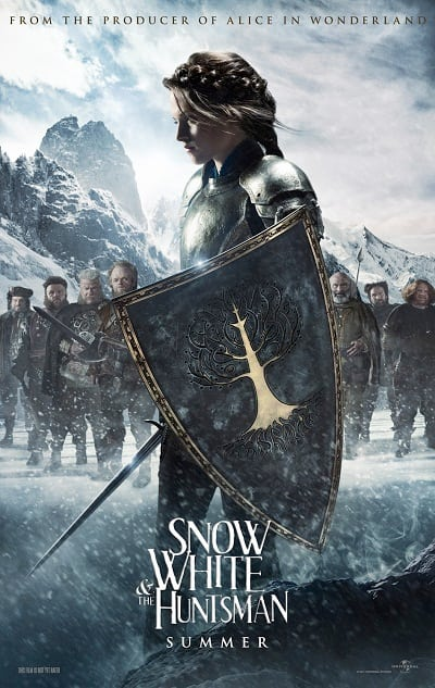 Kristen Stewart Snow White and the Huntsman Character Poster