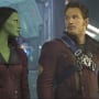 Chris Pratt Zoe Saldana In Guardians of the Galaxy
