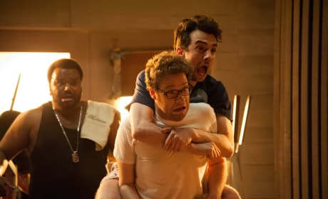 This is the End Craig Robinson, Jay Baruschel, Seth Rogen