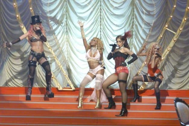Moulin Rouge Ladies Sing Together!