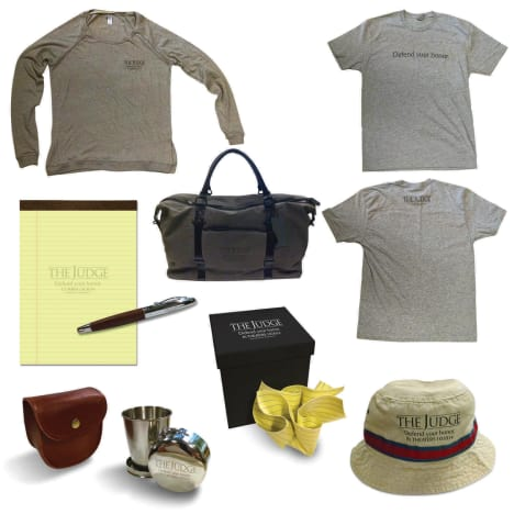 The Judge Prize Pack