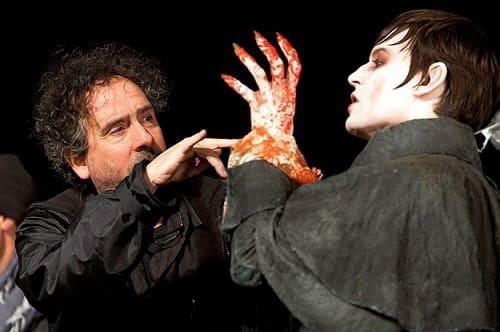 Johnny Depp and Tim Burton Film Dark Shadows