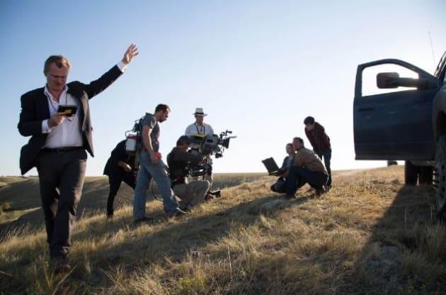 Christopher Nolan Interstellar Set