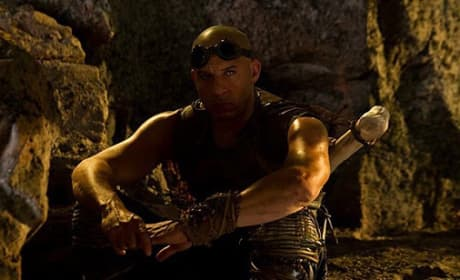Vin Diesel is Riddick in Riddick