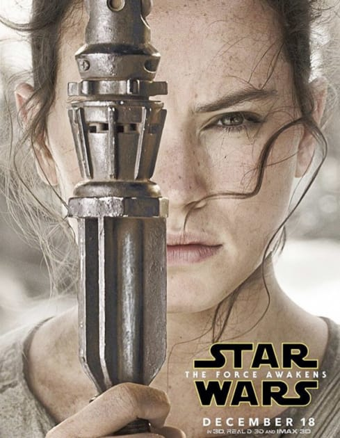 Daisy Ridley Stars as Rey