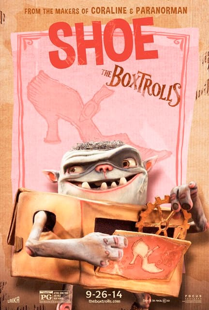 The Boxtrolls Shoe Character Poster