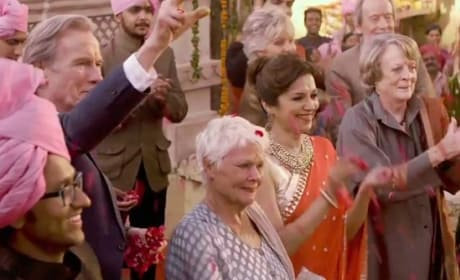 The Second Best Exotic Marigold Hotel Judi Dench Maggie Smith