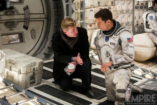 Christopher Nolan Directs Matthew McConaughey