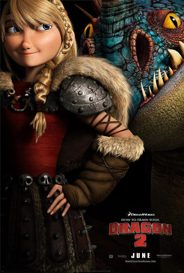 How to Train Your Dragon 2 Astrid Poster