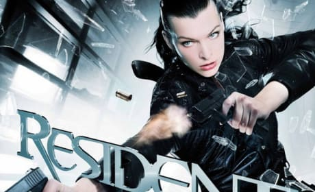 German Resident Evil: Afterlife Poster Comes at You in 3D!