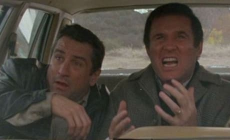 Robert De Niro and Charles Grodin in Midnight Run