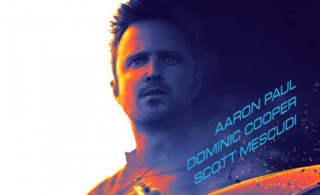 Need for Speed Poster: Aaron Paul Races For Justice