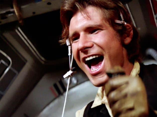Star Wars Harrison Ford is Han Solo