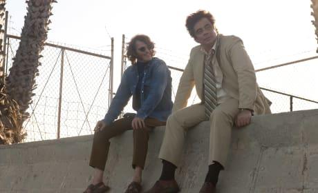 Inherent Vice Joaquin Phoenix Benecio del Toro