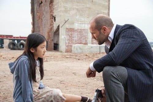 Jason Stathm and Catherine Chan in Safe