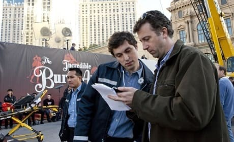 John Francis Daley and Jonathan Goldstein The Incredible Burt Wonderstone Set