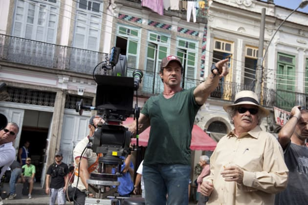 Stallone Directs The Expendables