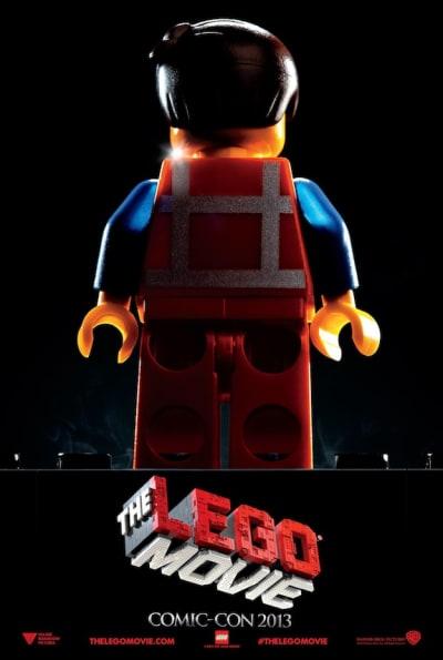 The LEGO Movie Comic-Con Poster